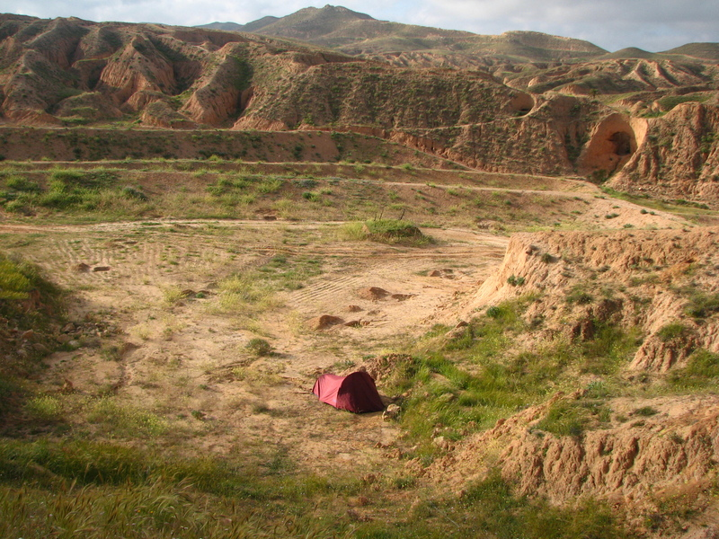 Camping sauvage en Tunisie