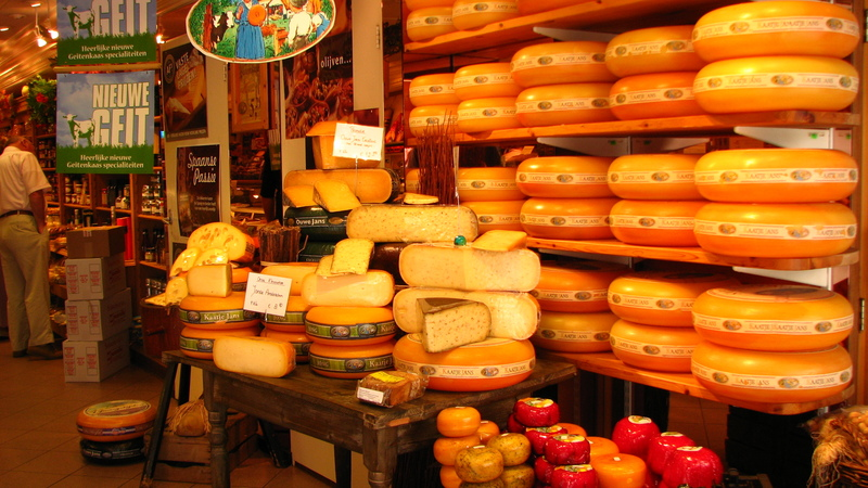 Hollande tomes de fromages tdm