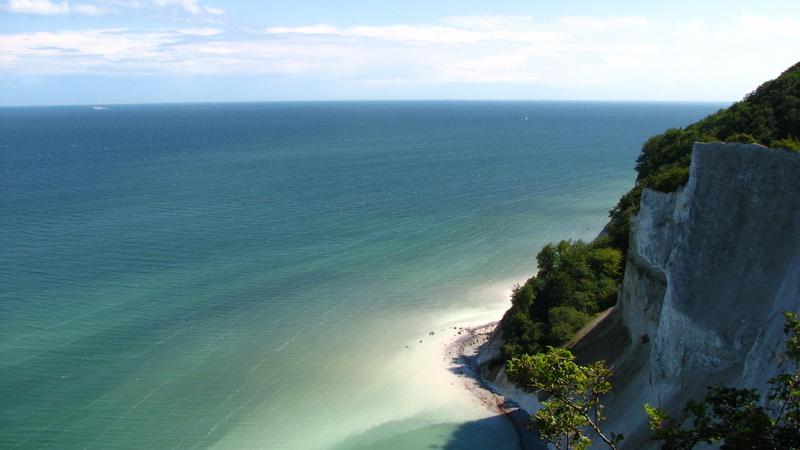 Danemark falaises de Mons Klint