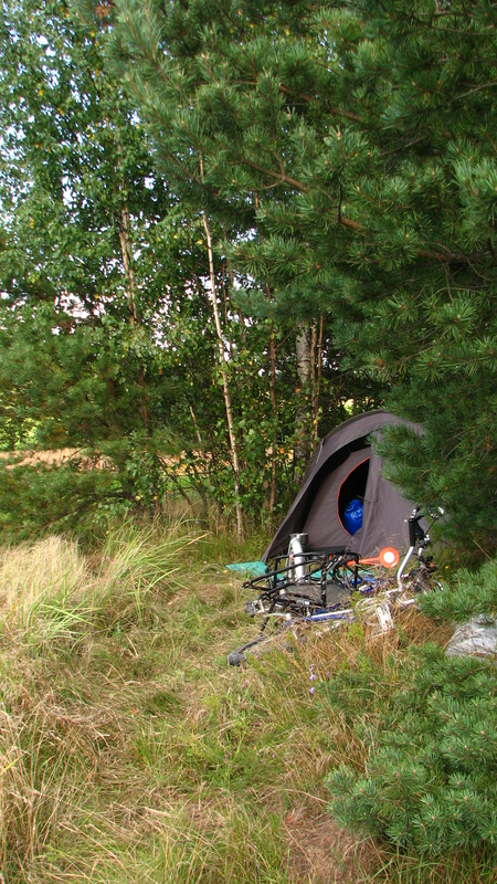 Camping sauvage Finlande