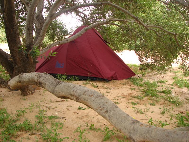 Camping sauvage Tunisie