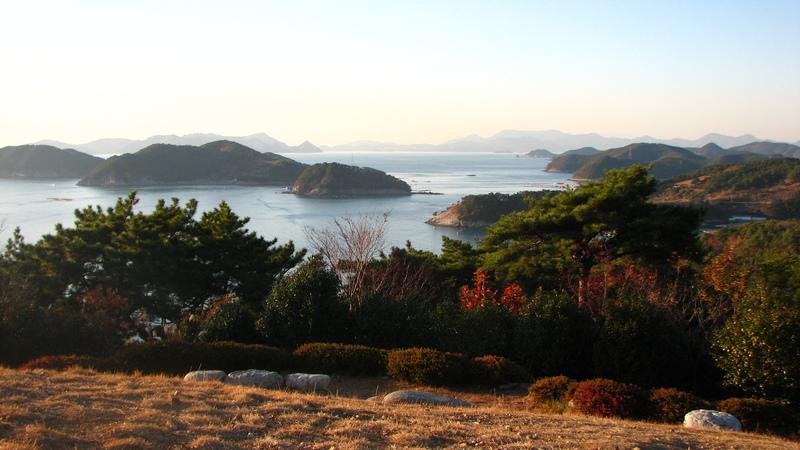 Corée du Sud parc national de Geoje