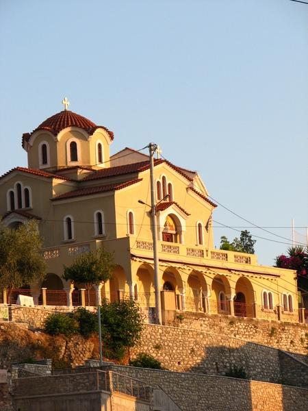 Grèce Patras Église été