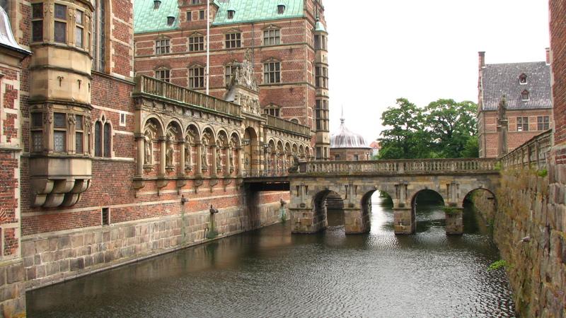 Hillerod château Danemark