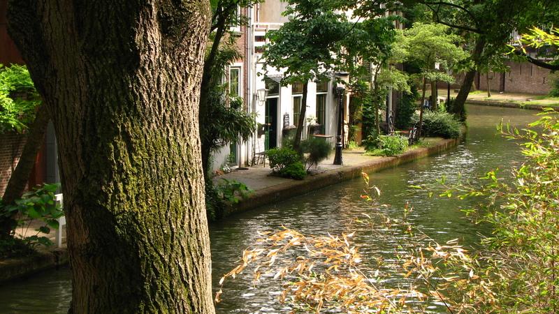 Utrecht ville d'eau pays-bas