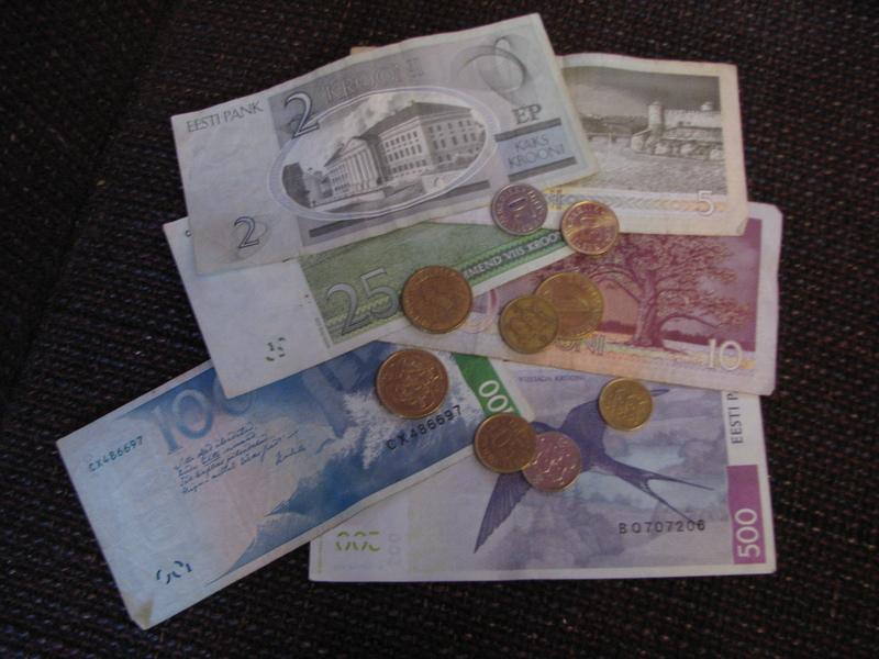 monnaie estonienne billets et pièces