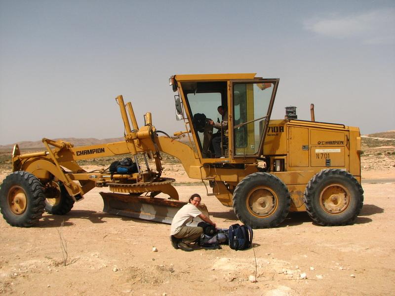 stop dans le Sahara Tunisie