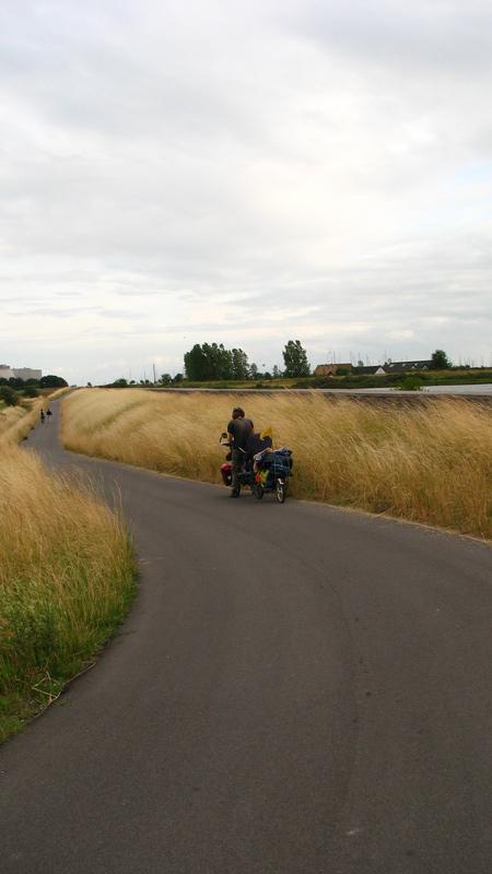 Quelques kilomètres avant Copenhage