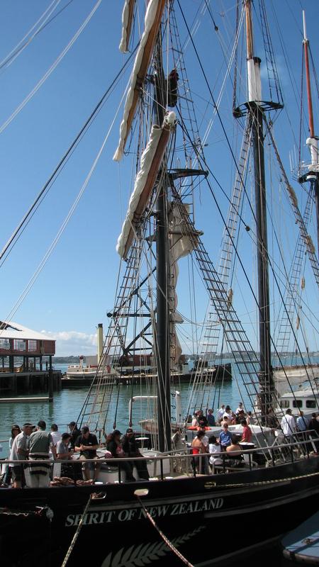 Port Auckland voilier fête privée