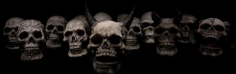 têtes de mort diable
